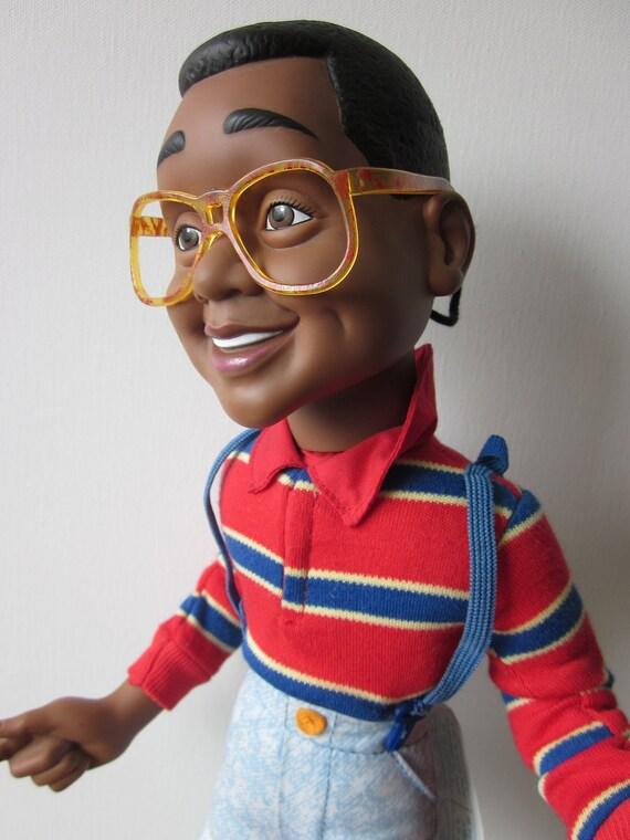 Vintage Talking Steve Urkel Doll