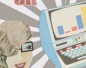 OK Computer- 8x10 Printable Wall Art- Download and Print
