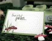 Down in the Garden - Printable INVITATION