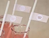 PRINCESS Straw & Party Tab Printable