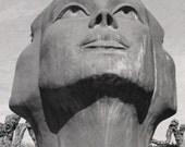 Regard de Lumière Sculpture Fine Art Photograph of Damme, Belgium
