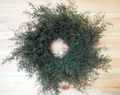 Fragrant SIMPLE Herbal SWEET ANNIE Wreath - Primitive Home Decor