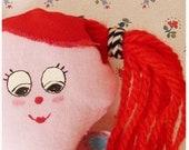 Doll set- Ginger doll, pillow and blanket