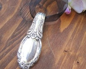 FAIRY MEADOW- Recycled Floral Silverware Handle Pendant