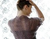 Easy Breezy Shoulder Shrug knitting pattern