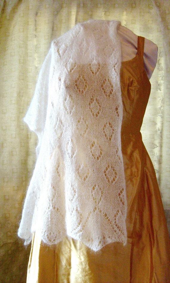 Wedding Bells Shawl Knitting Pattern