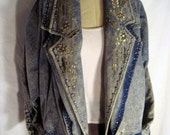 Glammed Out Acid Wash Jacket
