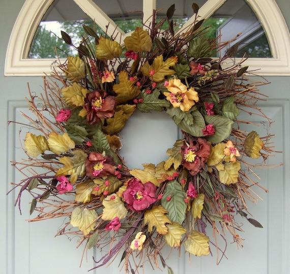Summer Wreath Wreath For Door Year Round Wreath