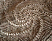 Crochet Pattern Grandad Lap Blanket Instant Download PDF Swirl Circle