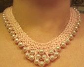 8mm Pink Pearls Necklace