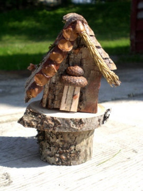 Fairy House Birch Bark