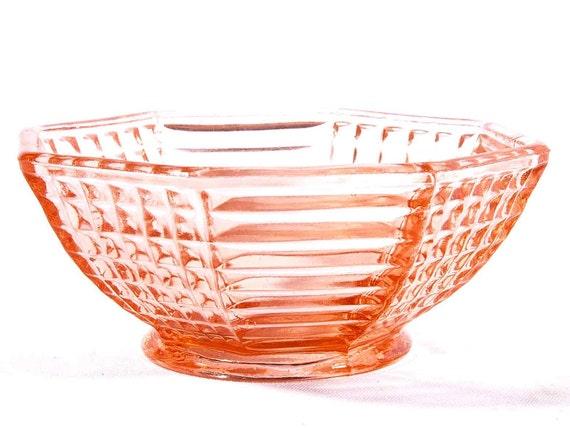 Pink Depression Glass Small Bowl