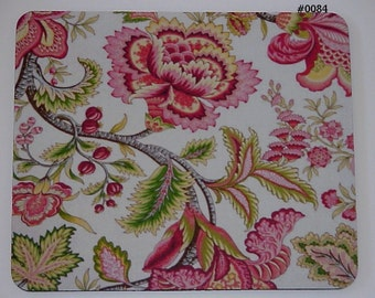 Mouse Pad - Pretty Pink Floral