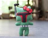 Boba Kitty Handmade Plush Doll