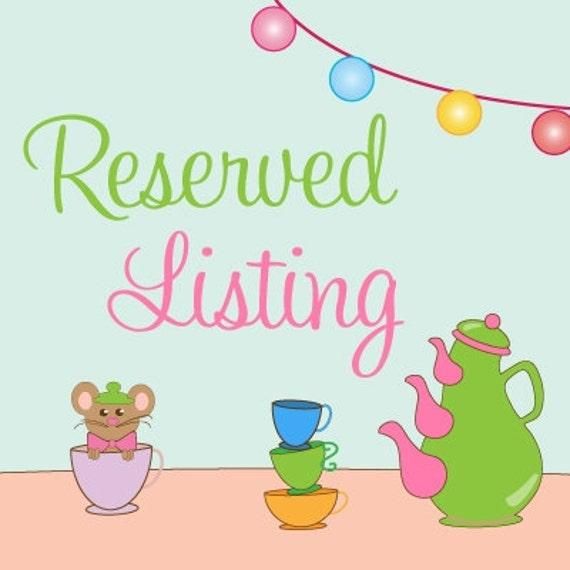 Reserved Listing for jennavincent12 - Blue Lagoon Mermaid Party