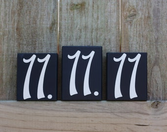 CUSTOM DATE BLOCK - Wedding Personalized Decor Sign Anniversary - Bride I Do Reception Ceremony Year Established Cake Table Centerpiece Gift