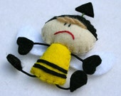 Beez the Bumble Bee - Stuffed Felt Animal