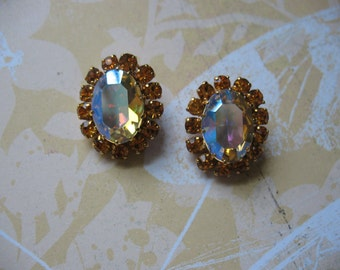 Dazzling Austrian Iridescent Crystal Earrings