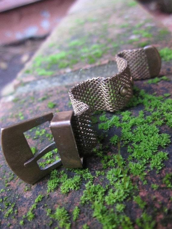 Vintage Ring Brass Ring Boho Ring Bohemian Ring Belt Buckle Ring Brass Hippie Ring