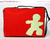 Messenger Bag,Student Bag,Artistic,colorful, - Schmooze-Assorted Colors