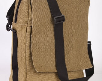Niko - Canvas Padded Laptop - Backpack and Messenger with Adjustable Strap