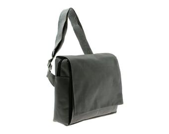 Grey, iPad ,Padded ,Messenger Bag,Laptop bag, Adjustable Strap-Mini Mula in,Gray