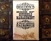 Beeton's Book of Household Management - A First Edition Facsimile - Mrs Isabella Beeton - Illustrated - 1970s paperback etiquette book