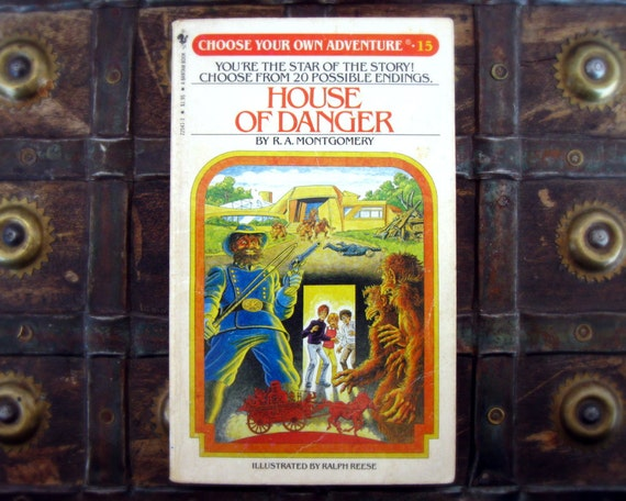 Choose your own adventure house of danger vintage by for Choose your own home