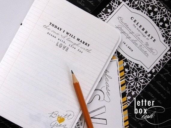 Notebook - Wedding Invitation
