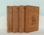 4 Antique Theodore Roosevelt Books