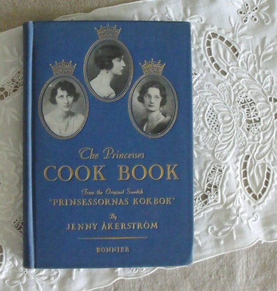 Vintage Swedish Princess CookBook 1936