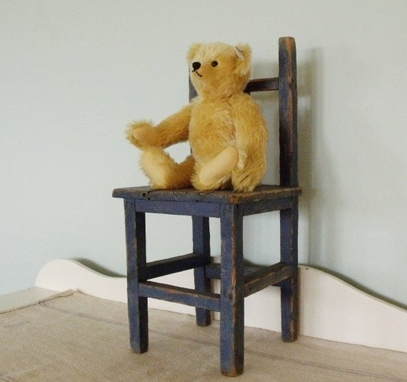 Rustic Antique  Doll or Child's Chair