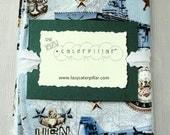 US Navy Baby Gift Set Bib and Burp Cloth
