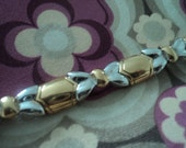 Signed Jewelry - D'Orlan Two Tones Bracelet