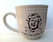 Betty White inspired mug