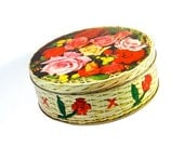 RESERVED FOR J. IN O. Roses Peek Frean Cookie Tin