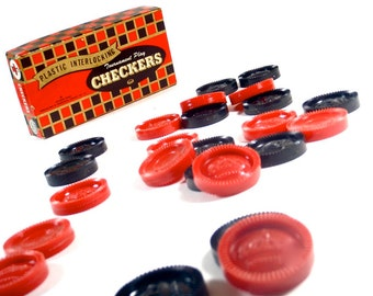 1950s Box of Checkers