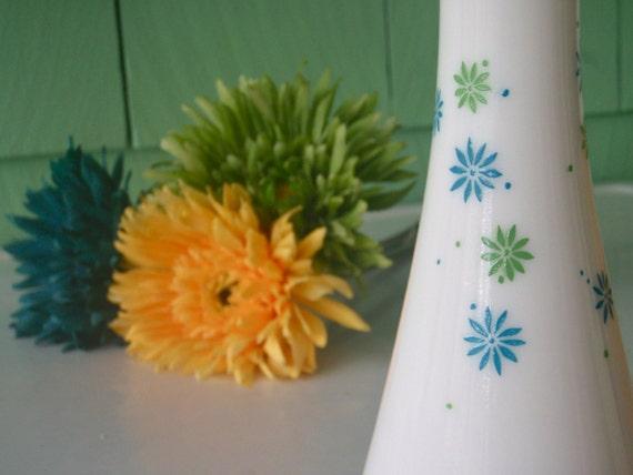 60s Flower Power Bud Vase