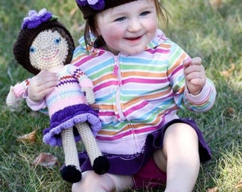 Crochet Custom Doll Look-Like-Me Mini Me