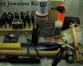 """THE MASTER JEWELER Kit  """"The Big Mama"""" - This kit has everything you need to set up shop - Includes all my detailed instructions"""