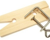 V-Slot Bench Pin with Clamp