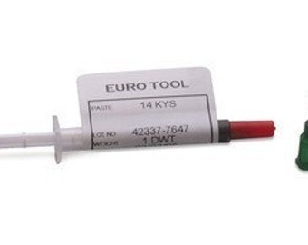 Easy (Soft) Silver Solder Paste - 0.5 ounce in convenient syringe NO WASTE Easy Application