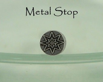 Metal Design Stamp - Star Inside a Star