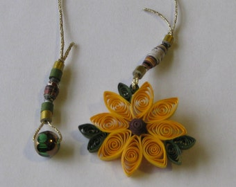 Yellow Sunflower Bookmark