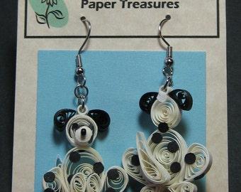 Dalmatian Earrings