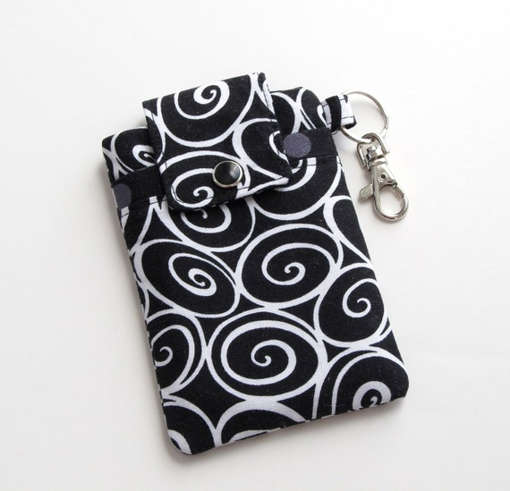 Black and White Smartphone Case, Handmade iPhone 4s, iPhone 5 Cover in ironworks, iPhone Cover - PREORDER