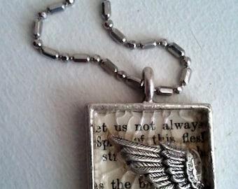 Angels - Kudos to Browning Pendant