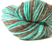 After Eight - Handspun Hand Dyed SW English blends wool Worsted Yarn - 263 yards - Buy 3 and get FREE SHIPPING