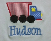 Boys Personalized  Dump Truck Shirt