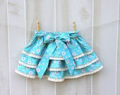Girl's Frilly Flouncy Tiered Skirt Size 3 Toddler Childrens Clothing Sample Sale